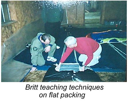 Teaching Packing Techniques
