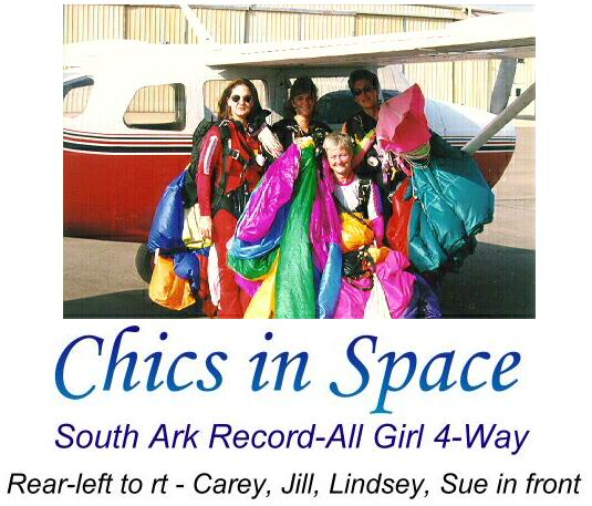 Chics in Space