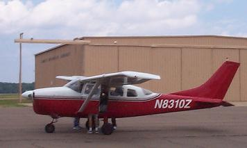 Our Plane, the Cessna 205